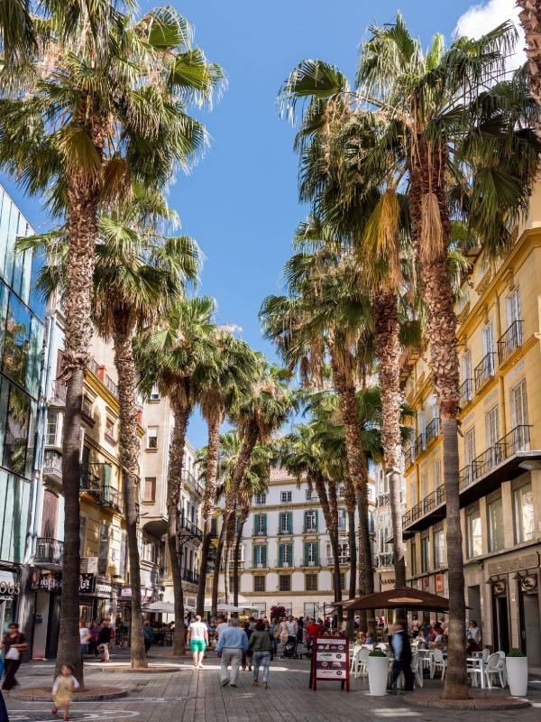 La Puerta del Mar à Málaga
