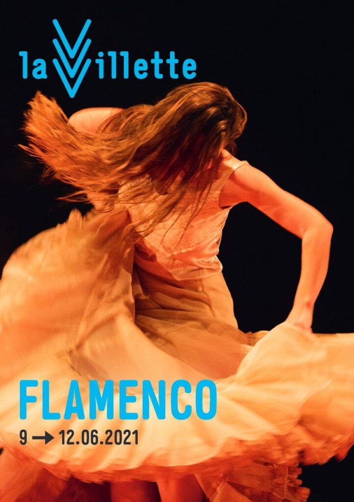 affiche flamenco à la villette 2021