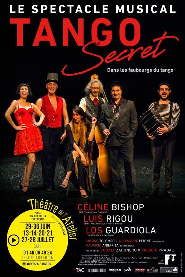 Tango Secret Théâtre de l'Atelier
