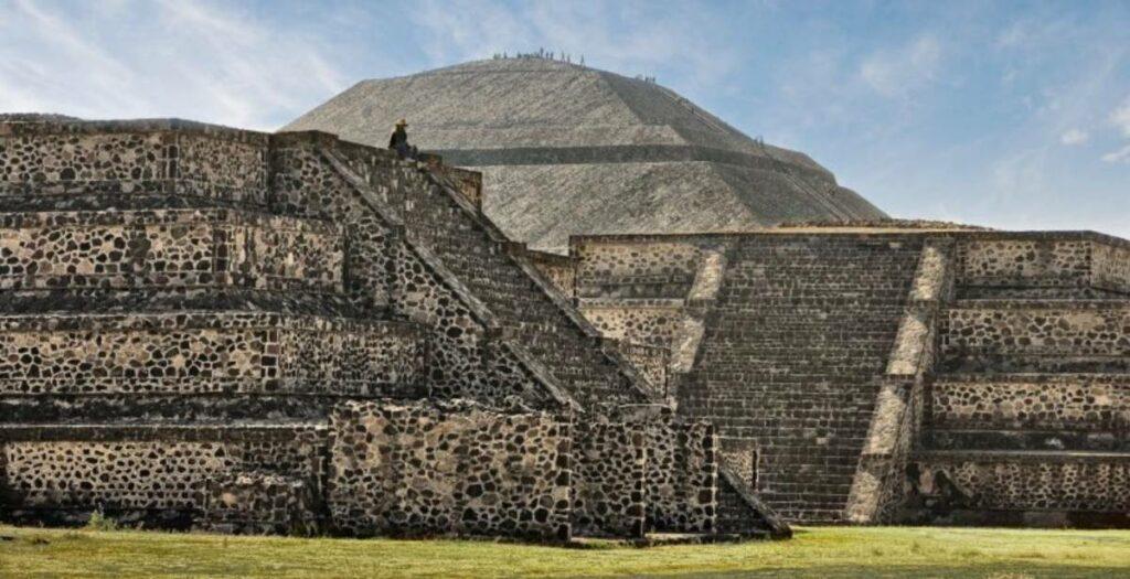 site de teotihuacan au Mexique