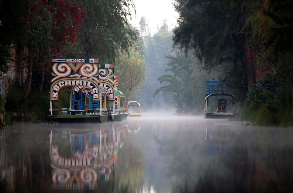 Les jardins de Xochimilco