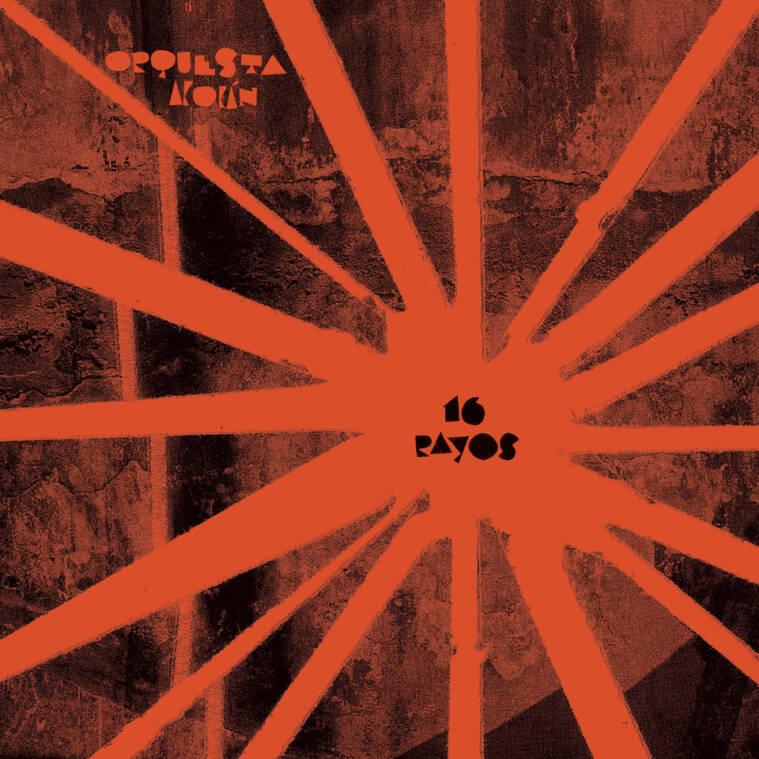pochette album 16 rayos d'Orquesta Akokán