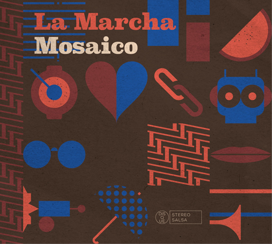 Visuel album Mosaico de La Marcha